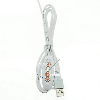 5v- Led Lamp Light, Usb Switch Adjustable, Led Strip For Office, Study, Desk