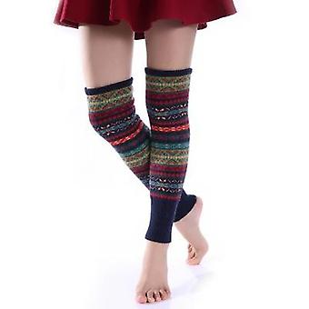 Winter Over Knee Long Knit Cover