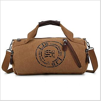 Durable Multifunction Handbag, Men Canvas Sport Bag