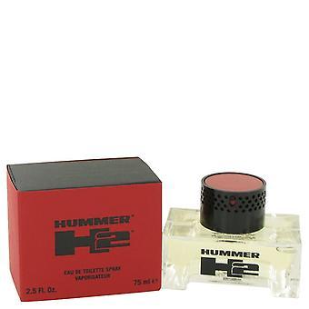 Hummer H2 by Hummer Eau De Toilette Spray 2.5 oz / 75 ml (Men)