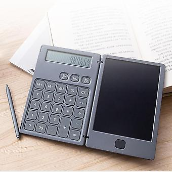 Lcd Writing Tablet With Calculator -digital Drawing, Electronic Handwriting Pad