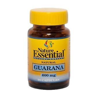 Guarana 50 capsules of 600mg