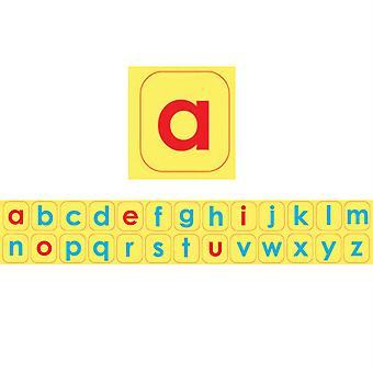 Die-Cut Magnetic Foam Lowercase Letters, 104 Pieces