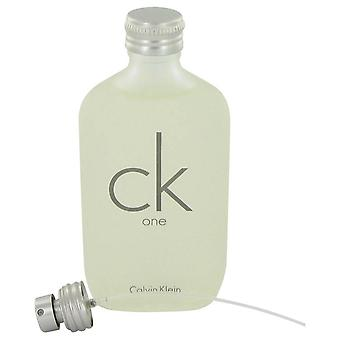 Ck One Eau De Toilette Pour/Spray (Unisex unboxed) By Calvin Klein 3.4 oz Eau De Toilette Pour/Spray