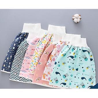Baby Diaper Skirt, Waterproof, Leak-proof, Training Pants, Cotton Washable