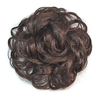 Wig Buckle Type Curled Fluffy Hair Pack
