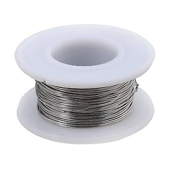 20M 2080 Nichrome Wire 0.4mm Dia Heating Wire Resistance Wires Silver