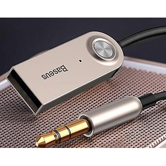 Bluetooth 5.0 Bezdrôtový zvukový adaptér Aux kábel a Usb
