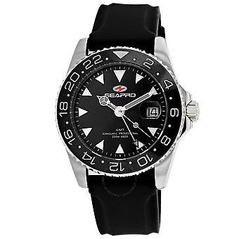 Seapro Agent Quartz Black Dial Men's Watch SP0121