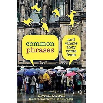 Common Phrases by Myron KorachJohn Mordock