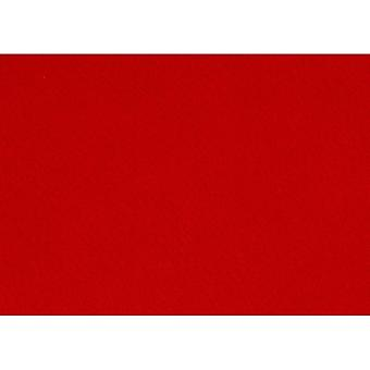 Creativ Craft Felt A4 1.5-2mm x10 red