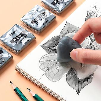 Plasticity Soft Rubber Eraser, Student Drawing Sketch