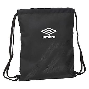 Backpack with Strings Umbro Black