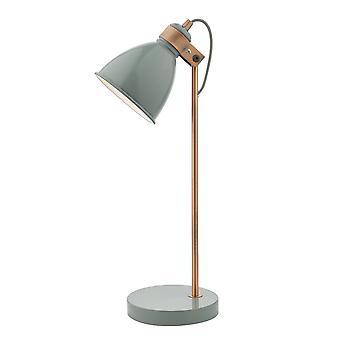 DAR FREDERICK Lámpara de tarea gris y cobre
