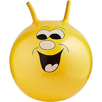 Toyrific Jump N Bounce Space Hopper Retro Excercise Ball Smiley 20 Inch