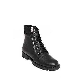 Black leather men's boot | wessi