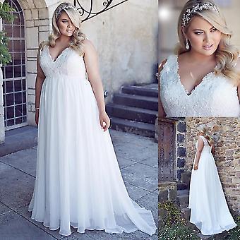 Lace Corset Bridal Wedding Gown