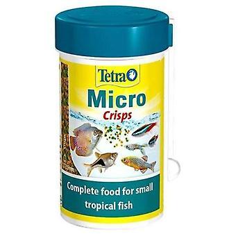 Tetra Comida para Peces Micro Crisps Tetra 100 ml (Peces , Comida , Agua caliente)