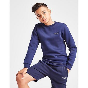 New McKenzie Essential Boys' Crew Sweatshirt Blue