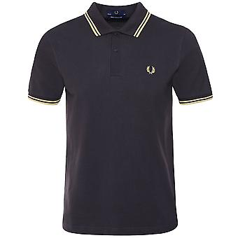 Fred Perry Twin Tipped Polo Shirt M12 297