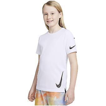 נייקי Instacool DA0560100 אוניברסלי כל השנה ילדה חולצת טריקו