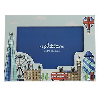 London Ikony Drewniana ramka na zdjęcia