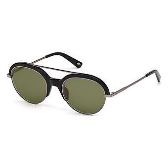 """משקפי שמש לגברים משקפי שמש אינטרנט WE0226-01Q שחור ירוק (ø 51 מ""""מ)"""