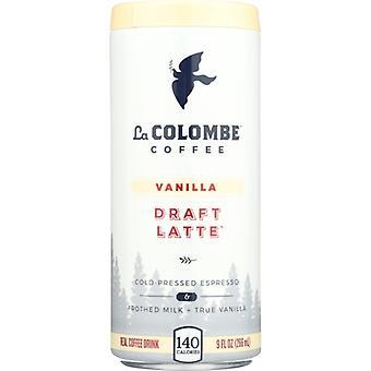 La Colombe Latte Draft Vanilla, przypadek o wysokości 12 x 9 oz