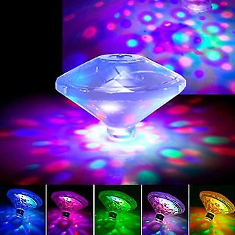 LED Disco party Light Floating Light RGB Submersible Glow Show Swimming Pool Hot Tub Spa Lamp Baby