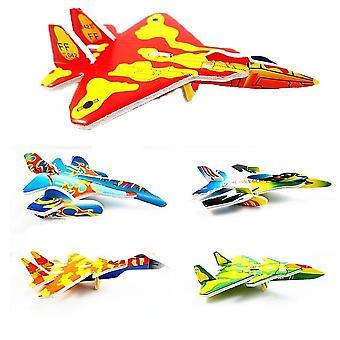 3d DIYハンドスローフラインググライダープレーン、フォーム飛行機、パーティーバッグフィラー、s、