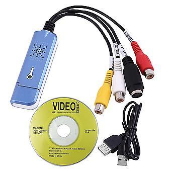 Přenosné video a video usb 2.0 Kompozitní rca adaptér karty pro zachycení zvuku