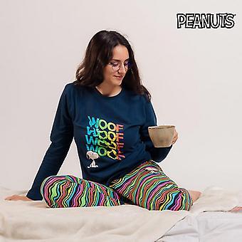 Pyjama Snoopy Lady Blue