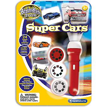 Brainstorm Toys Super Cars Torch and Projector
