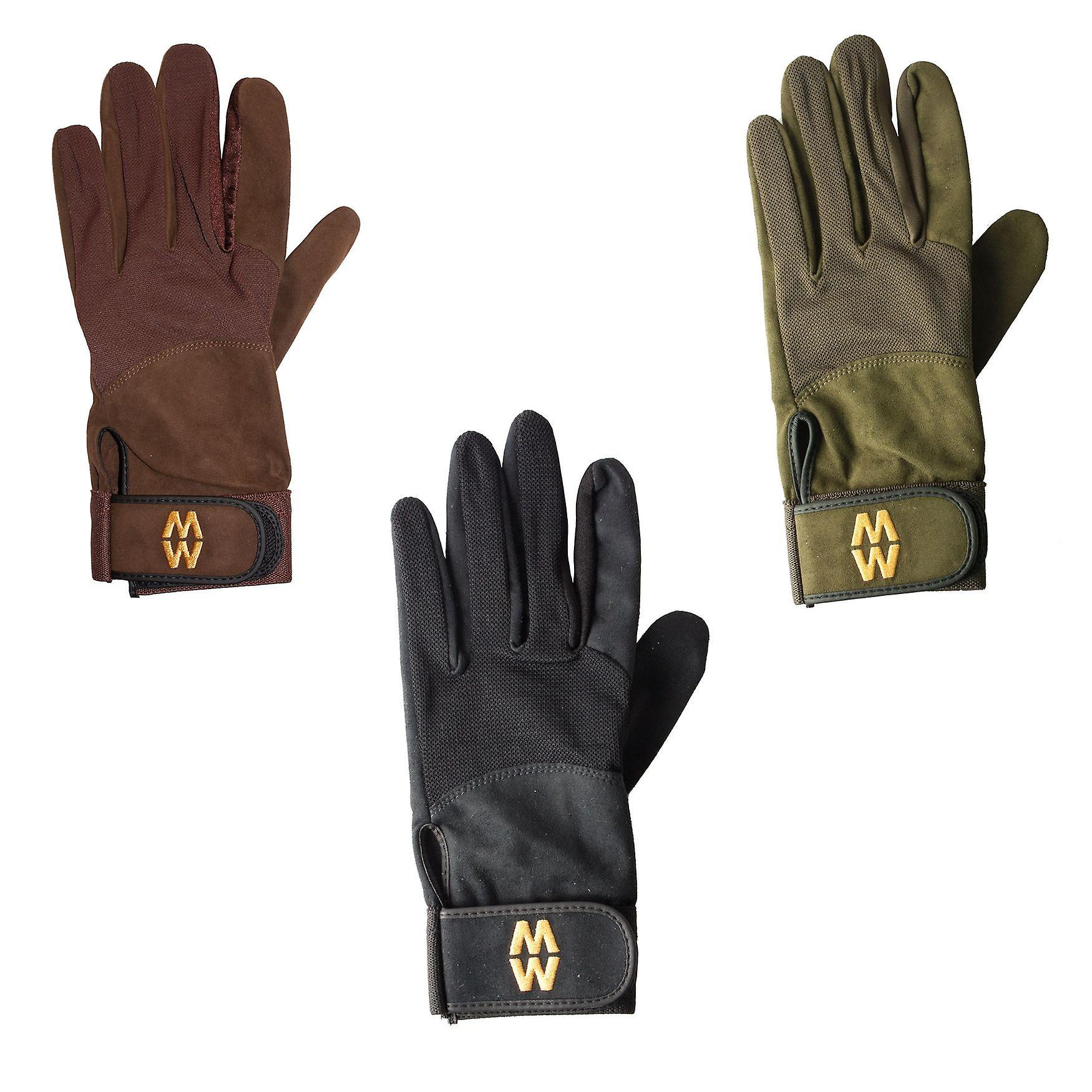 Macwet Micromesh Handschuhe lange Stulpe - Grip unter allen Bedingungen golf, Bogenschießen, schießen