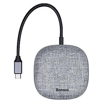 USB C HUB Tip C la USB 3.0 RJ45 USB HUB HDMI Adaptor Dock pentru MacBook Pro SD Card Reader Fabric 7