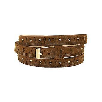 Il mezzometro strass leather bracelet  bms1308_s