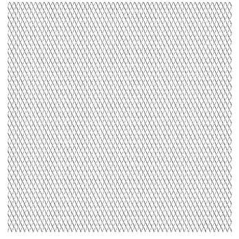 vidaXL شبكة مات الموسعة الفولاذ المقاوم للصدأ المعادن 50×50 سم 45×20×4 ملم