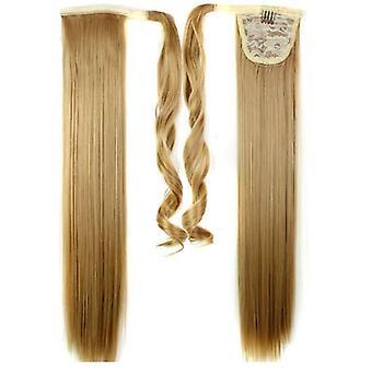 (60cm27 #) Doamnelor clip pentru femei în ca hair extension Pony Tail Wrap Around Wrap On Ponytail
