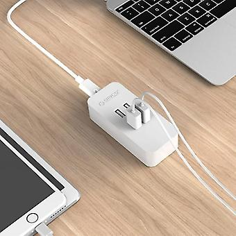 ORICO DCV-4U 4 porte 5V / 2.4A Desktop USB Charger, per iPhone / iPad / Galaxy / Huawei / Xiaomi /