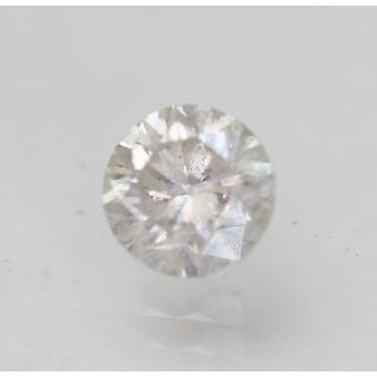 Sertifioitu 0,70 karat G SI2 pyöreä brilliant parannettu luonnollinen löysä timantti 5,45mm