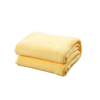 Swotgdoby Coral Fleece Blanket, Solid Color Warm Fuzzy Throw Blanket For Couch Bed Sofa