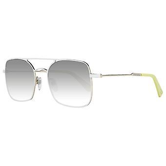 Óculos de sol unissex creme