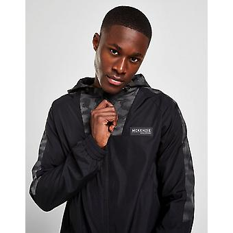 New McKenzie Men's Crossbar Camo Lightweight Jacket from JD Outlet Black