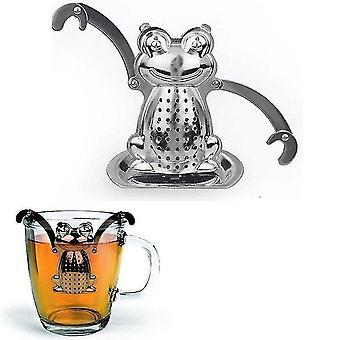 Frog Design Stainless Steel  Tea Infuser