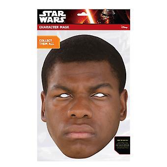 Finn Official Star Wars The Force Awakens Card Party Fancy Dress Mask