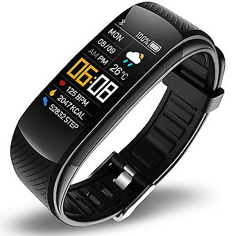 Bluetooth fitness band with HR and BP sensor