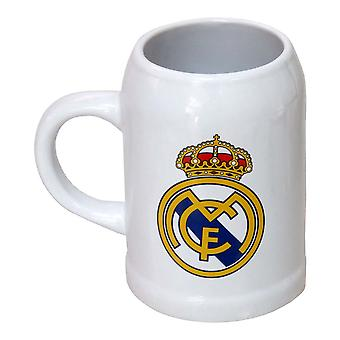 Jug Real Madrid C.F. 400 ml White Ceramic