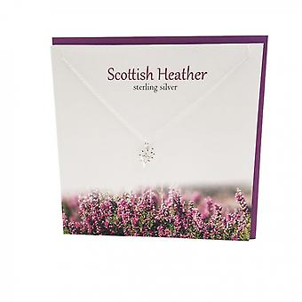 Scottish Heather Pendant Card by The Silver Studio