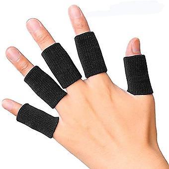 Sports Basketball Finger Beskyttende Cover-sort 10 stk