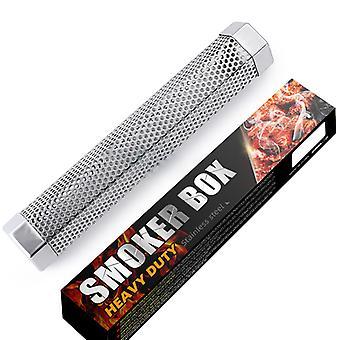 Pellet Smoker Tube For Kald / varm Røyking, bbq, passer Alle Elektriske Gass Kullgrill